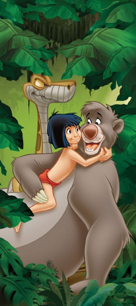 Jungle Book mural wallpaper 90x202cm